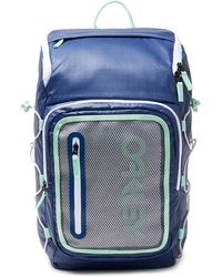 Oakley Blue 90's Square Backpack - Blauw