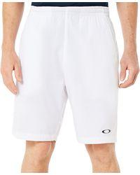 Oakley Enhance Technical Short Pants 8.7.01 9i Enhance Technical Short Pants 8.7.01 9i - Weiß