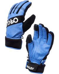 Oakley Dark Blue Factory Winter Glove 2.0 - Blau