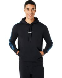 Oakley - Street Logo Tape Hooded Fleece - Lyst