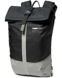 Oakley Black Latch Roll Top Backpack