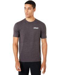 Oakley Black Glitch Advertising Short Sleeve - Grau