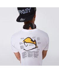 Oakley Heritage Eyeshade Tee - White