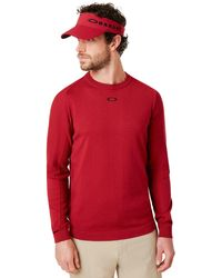 Oakley Light Knit Crewneck - Rouge