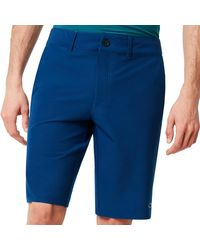 Oakley Hybrid Short 5 Pockets - Blau