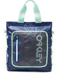 Oakley Blue 90's Tote Bag Backpack - Blau