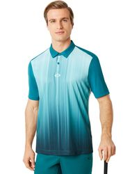 Oakley Infinity Line Golf Polo Short Sleeve - Blau