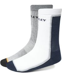 Oakley Half Color Socks - Weiß