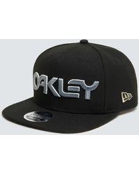 Oakley 6 Panel Gradient Hat - Black