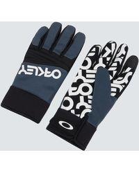 Oakley Factory Park Glove Handschuhe für kaltes Wetter - Blau