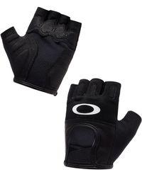 Oakley Jet Black Factory Road Gloves 2.0 - Schwarz