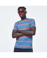 Oakley Six Stripes Short Sleeve Tee - Blau