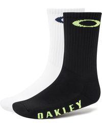 Oakley Blackout Socks Ellipse (2 Pcs Pack) - Nero