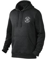 Oakley Round Up Fleece Full-zip Hoodie - Noir