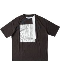 Oakley Geometric Multifabric Short-sleeves Tee Osr - Braun