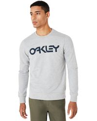 Oakley - Granite Heather B1b Crew - Lyst
