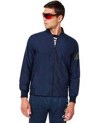 Oakley Enhance Wind Warm Mil Jacket - Blau