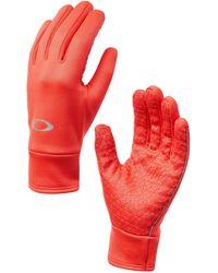 Oakley Poppy Red Fleece Glove