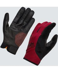 Oakley All Conditions Gloves - Rouge