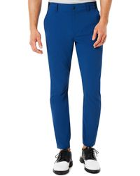 Oakley Dark Blue Tapered Golf Pants - Blau