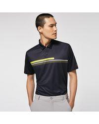 Oakley Hexsplit Stripe Rc Polo - Bleu