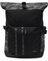 Oakley Blackout Reflective Utility Rolled Up Backpack - Schwarz