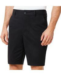 Oakley Chino Icon Golf Short - Schwarz