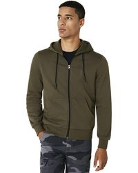 Oakley Fleece Camou Zipped - Green