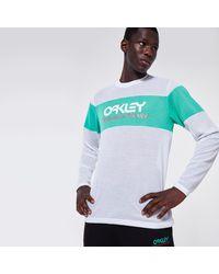 Oakley Tnp Fiery Stripe Ls Tee - Multicolor