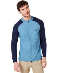 Oakley Seamless Hybrid Sweater - Blau