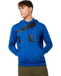 Oakley Electric Shade Big Logo Ellipse Hoodie - Azul