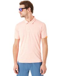 Oakley Neon Orange Gravity Golf Polo - Oranje