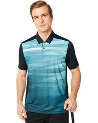 Oakley Ace Golf Polo Short Sleeve - Blau