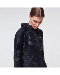 Oakley Run Free Fz Hooded Jacket - Blue