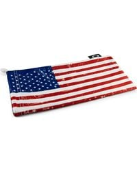 Oakley Country Flag Microbag - Rot