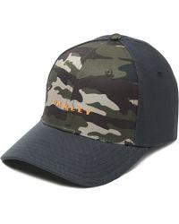5e1df04c5e2 Oakley - 6 Panel Camou + Solid Hat - Lyst