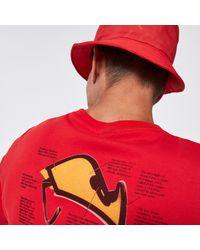 Oakley Heritage Eyeshade Tee - Red