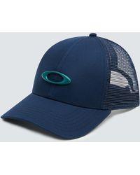 Oakley Trucker Ellipse Hat - Bleu