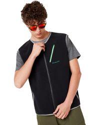 Oakley Blackout Hybrid Pile Vest - Zwart