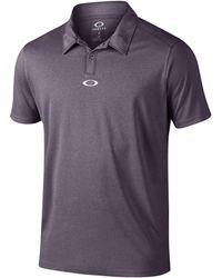 oakley roman tailored fit golf polo