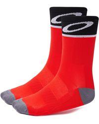 Oakley Cycling Socks - Rot