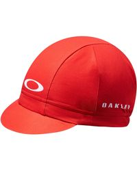 Oakley Red Line Cycling Cap - Rot