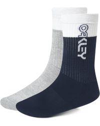 Oakley - Block Color Socks - Lyst
