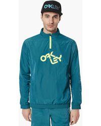 Oakley Petrol Iridium Jacket - Blau