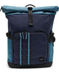 Oakley Foggy Blue Utility Rolled Up Backpack - Blau
