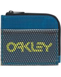 Oakley Petrol 90's Zip Small Wallet - Blue