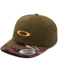 Oakley Dark Brush 6 Panel Military Hat - Groen