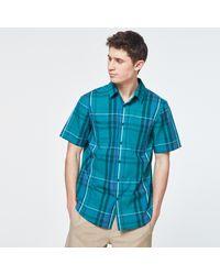 Oakley Beyond Basic Check Short Sleeve Shirt - Vert