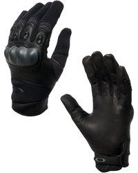 Oakley Black Factory Pilot Glove - Negro