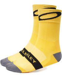 Oakley Cycling Socks - Gelb